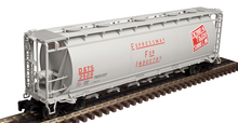 Atlas O DT&S  Cylindrical Covered Hopper, 3 rail or 2 rail