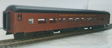 Golden Gate N&W modernized heavyweight passenger coach, 3 or 2 rail