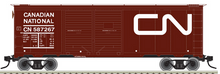 Atlas O CN 1937 style  40' steel double door box  car