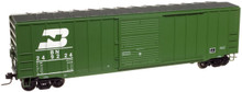 Atlas O BN 50' box car, 3 rail or 2 rail