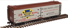 Atlas O Stokely's Vegetables 40' Wood Reefer