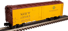 Atlas O MDTIC (orange)  40' steel reefer, 3 rail or 2 rail