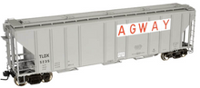 Atlas O Agway PS4427 50' Covered Hopper, 3 rail or 2 rail