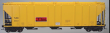 Atlas O TLDX PS4427 50' Covered Hopper, 3 rail or 2 rail
