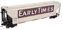 Atlas O Early Times PS4427 50' Covered Hopper, 3 rail or 2 rail