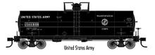 Atlas O  US Army 11,000 gallon tank car, 3 rail or 2 rail