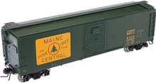 Atlas O Maine Central  X-29 style (green)  40' box car, 3 rail or 2 rail