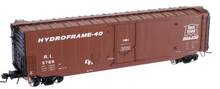 Atlas O Rock Island 50' plug door box car, 3 rail or 2 rail