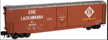 Atlas O EL  50' plug door box car, 3 rail or 2 rail