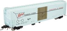 Atlas O Libby's Foods 50' plug door box car, 3 rail or 2 rail