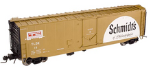Atlas O Schmidts Beer 50' plug door box car, 3 rail or 2 rail