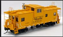 Atlas O Rio Grande (orange) Extended Vision caboose, 2 rail