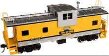 Atlas O Rio Grande (yellow) Extended Vision caboose, 2 rail