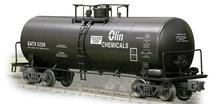 Weaver Olin Chemicals 40' tank car, 3 rail or 2 rail