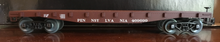 Weaver PRR  40' flat car, 3 rail or 2 rail