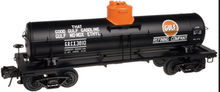 Atlas O Special Run Gulf Oil 8000 gal tank car, 3 or 2 rail