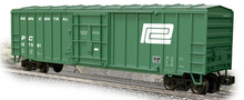Weaver PennCentral  50' plug  door box car, 3 rail or 2 rail