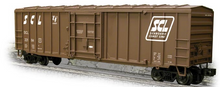 Weaver SCL  50' plug  door box car, 3 rail or 2 rail