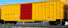 Weaver US Army  50' plug  door box car, 3 rail or 2 rail