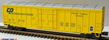 Weaver C&P  50' plug  door box car, 3 rail or 2 rail