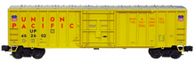Weaver UP  50' plug  door box car, 3 rail or 2 rail