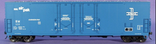 Atlas O B&M 53' double plug door box car