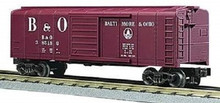 MTH Rail King Baltimore & Ohio Rounded Roof Box Car, 3 rail