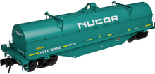 Atlas O Nucor Steel  Coil Steel car, 3 rail