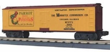 MTH Rail King Parrot Potatoes Reefer, 3 rail