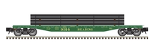 Pre-order for Atlas O Reading 50' flat car with pipe load