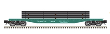 Pre-order for Atlas O P&LE 50' flat car with pipe load
