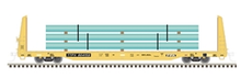 Pre-order for Atlas O TTPX  62' Bulkhead Flat car with pipe load