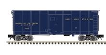 Pre-Order for Atlas O B&O (Blue)  40' wagon top box  car