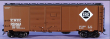 Atlas O Erie  1937 style AAR 40' steel double door box car