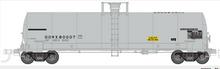 Atlas O DOWX (Dow Chemical)  17,360 gallon  tank car, 3 rail or 2 rail