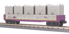 MTH Railking MTHRRC Gondola Car w/LCL Containers, 3 rail