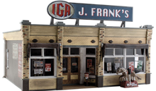 Woodland Scenics O gauge J. Frank's Grocery Store..super detailed
