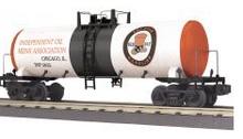 MTH Railking  Red Hat Gasoline  Modern Tank Car, 3 rail