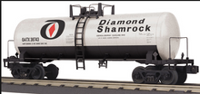 MTH Railking Diamond Shamrock modern Tank Car, 3 rail