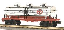 MTH Railking Mohawk Petroleum chrome Tank Car, 3 rail