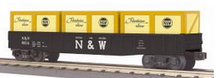 MTH Railking N&W (large N&W)) gondola with crates, 3 rail