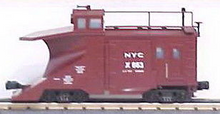 MTH Premier NYC wedge snow plow, 3 rail