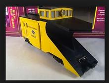 MTH Premier LV wedge snow plow, 3 rail