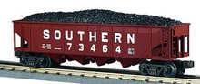 MTH Railking Southern 4 bay  hopper car, 3 rail