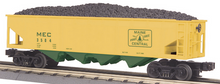 MTH Railking Maine Central 4 bay  hopper car, 3 rail
