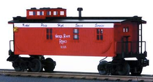 MTH Railking NKP woodside caboose,  3 rail
