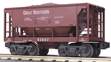 MTH Railking GN Ore Car w/Load, 3 rail