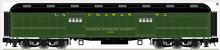 Pre-order for Atlas O 60' Lackawanna (green)  Baggage Car, 3 rail or 2 rail