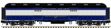 Atlas O 60' B&O  Baggage Car,  3 rail or 2 rail