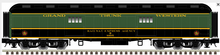 Pre-order for Atlas O 60' GTW  Baggage Car, 3 rail or 2 rail